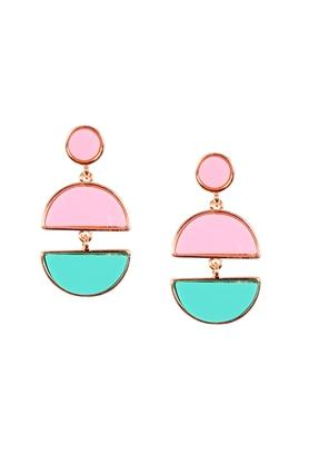 Womens Geometric Dangler Earrings