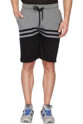 Mens 3 Pocket Colour Block Shorts