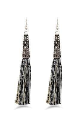 Womens Tassel Drop Earrings