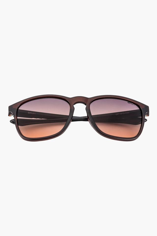 Mens Wayfarer Polycarbonate Sunglasses