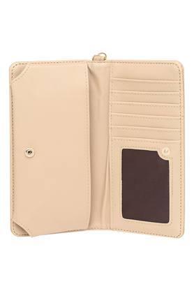 Womens Zipper Closure 1 Fold Wallet