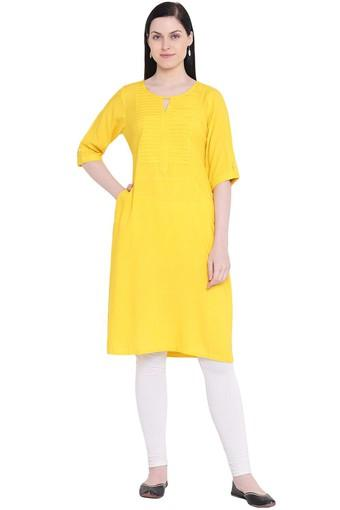RANGRITI -  Yellow Kurtas - Main