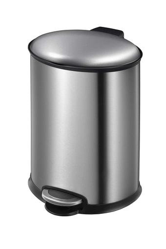 Brushed Stainless Steel Step Bin