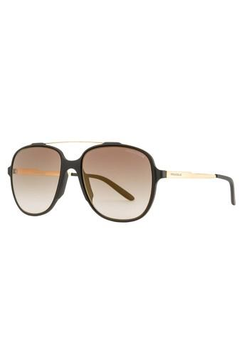 Mens Browline Polycarbonate Sunglasses