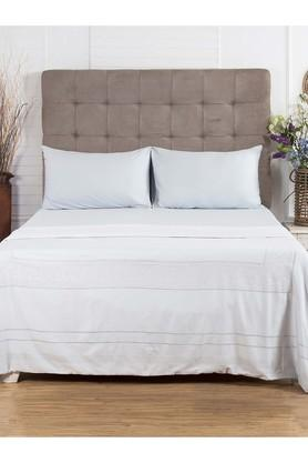 Schiffli Elegance Double Printed Duvet Cover with 2 Pillow Covers