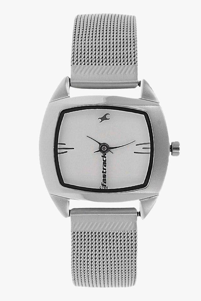 05ce45ce Womens Analogue Stainless Steel Watch - NJ6001SM01
