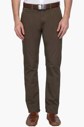IZOD Mens Slim Fit 4 Pocket Printed Chinos