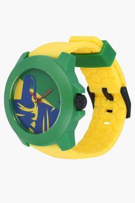 Print Dial Plastic Strap Watch - 38021PP13J