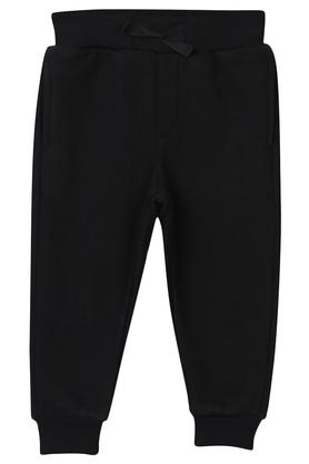 Boys 2 Pocket Solid Joggers