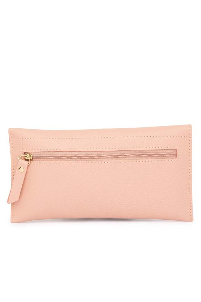 Womens Button Closure Wallet