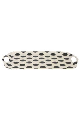 Rectangular Printed Tray with Handel