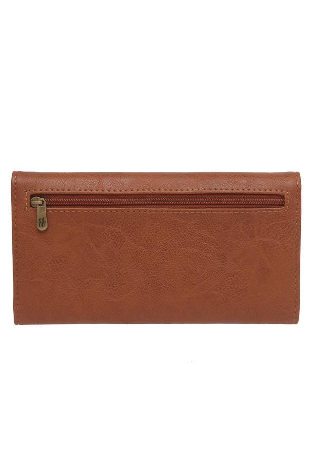 Womens Snap Closure 1 Fold Wallet