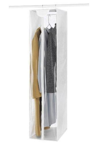 Transparent Zipper Closure Garment Bag