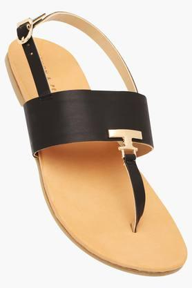 LEMON & PEPPER Womens Casual Wear Buckle Closure Flats - 203275608