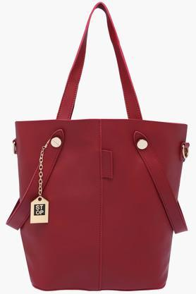 STOP Womens Casual Wear Tote Handbag