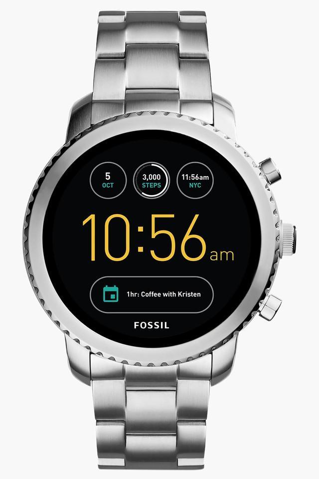 Q Explorist Stainless Steel Gen 3 Smart Watch FTW4000