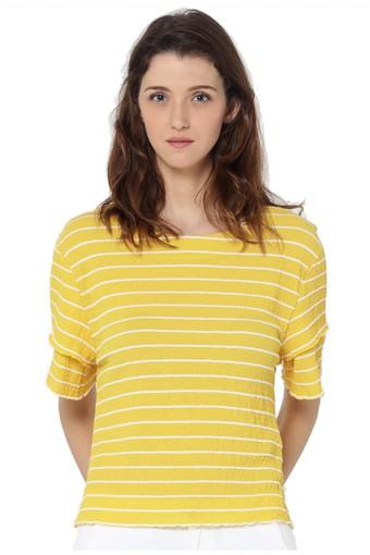 ONLY -  M.yellow Tops & Tees - Main