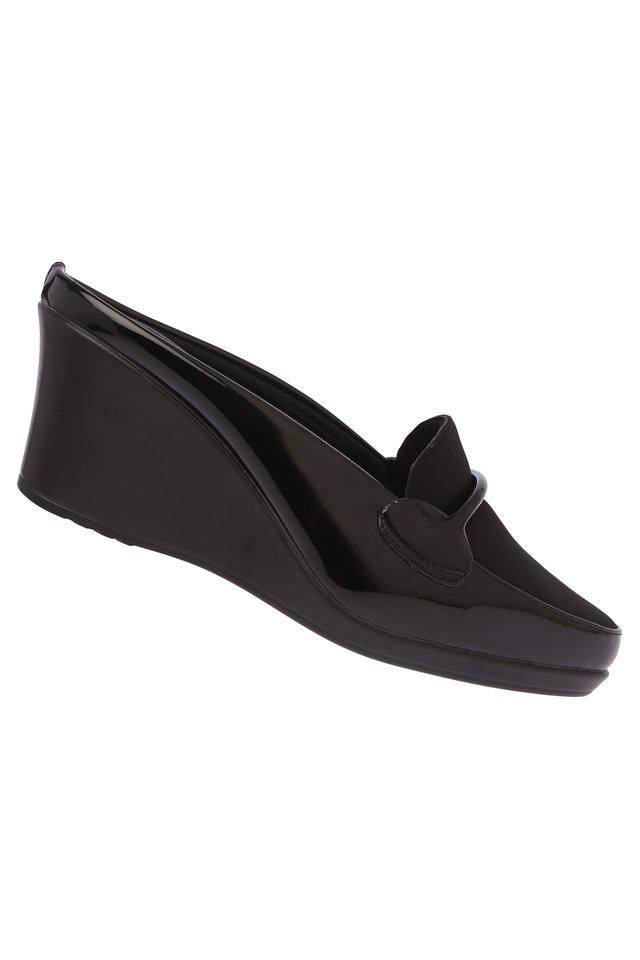 Womens Formal Wear Slip On Heeled Wedges