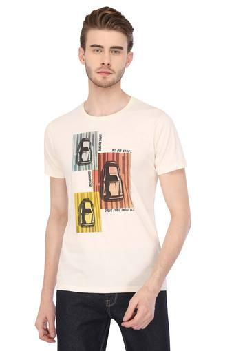 LIFE -  CreamT-Shirts & Polos - Main