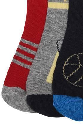 Boys Printed Socks - Pack of 3