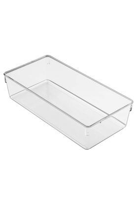 INTERDESIGNRectangular Transparent Drawer