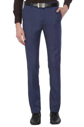 Mens Printed Formal Trousers