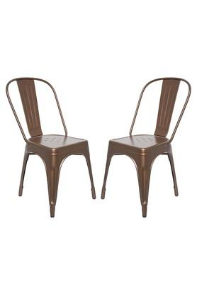 Golden Stylo Chairs Set of 2