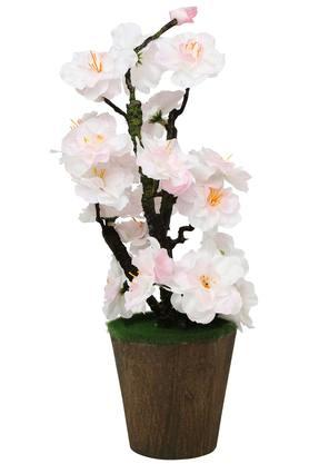 Cherry Blossom Moss Potted Artificial Flowers