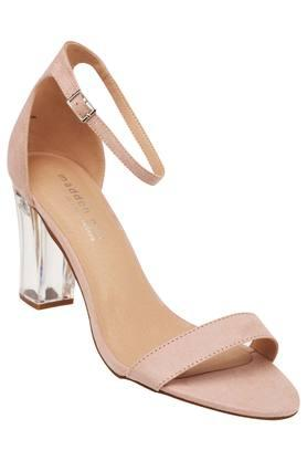 STEVE MADDEN Womens Party Wear Buckle Closure Heels