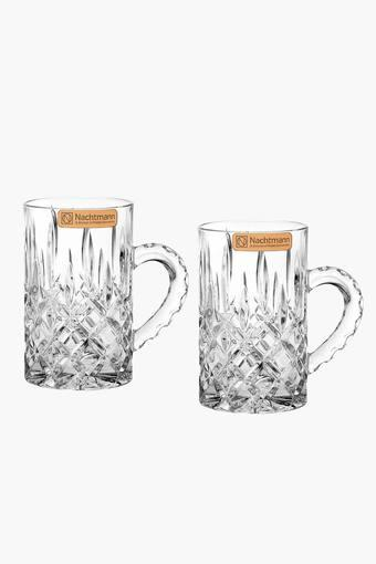 Round Noblesse Mini Beer Mugs Set of 2