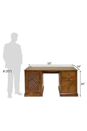 Brown Lancelot Study Table