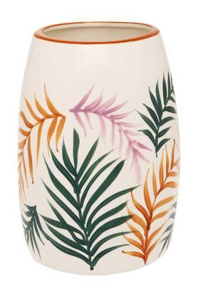 IVY Ceramic Printed Flower Vase