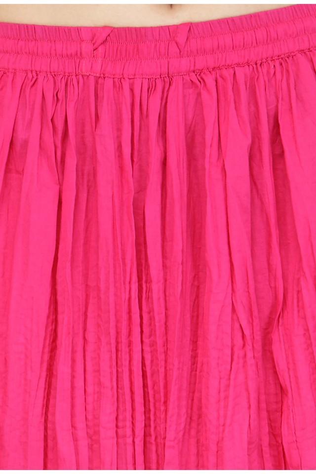Women Printed Kurta and Skirt Set