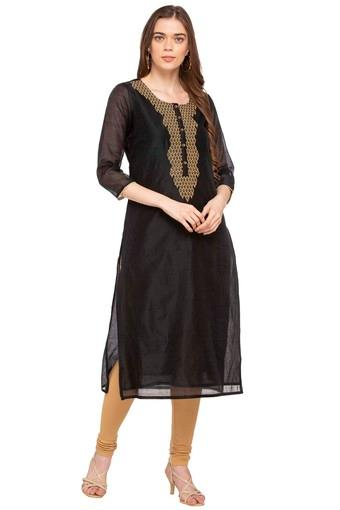 KASHISH -  Black Kurtas - Main