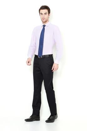 Mens Slim Fit Notched Lapel Solid Suit