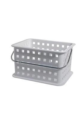 INTERDESIGNRectangular Basket With Handle