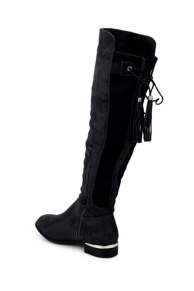 Womens Casual Wear Zip Closure Long Boots