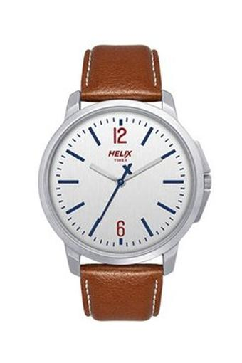 Mens Analogue Leather Watch - TW027HG00