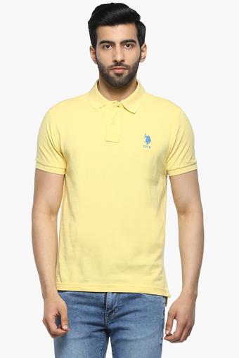 U.S. POLO ASSN. -  YellowT-shirts - Main