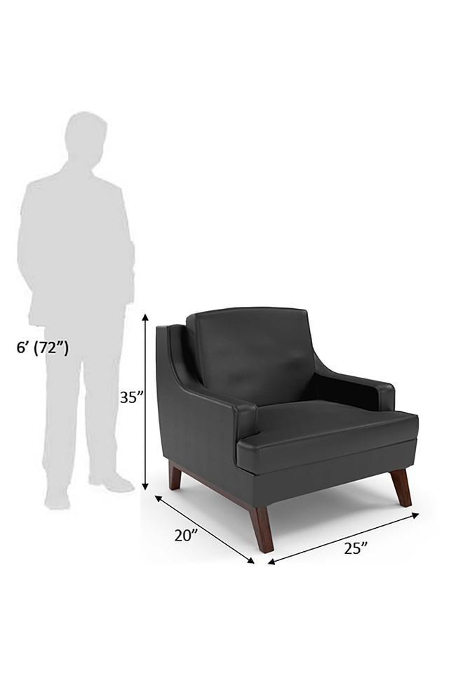 Dark Grey Blem Sofa