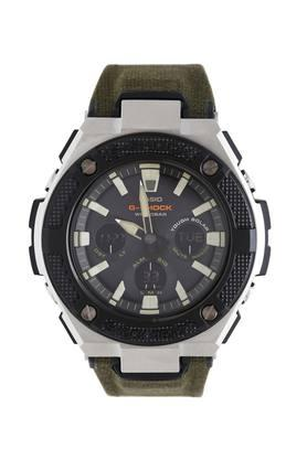 Mens Leather Chronograph Watch - G888
