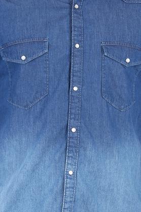 Mens 2 Pocket Washed Shirt