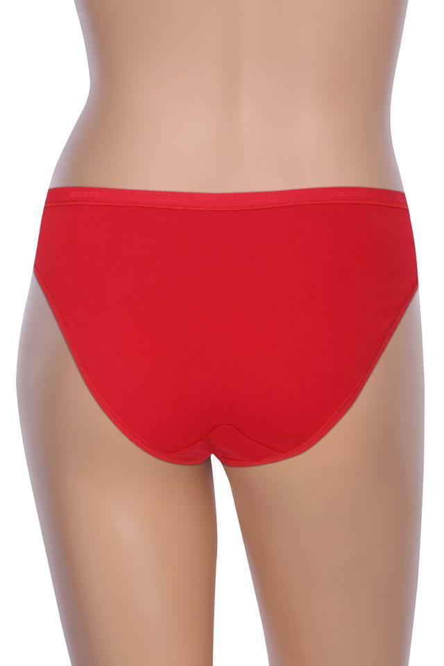 Women Solid Bikini Briefs Pack of 3