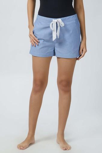Womens Striped Shorts