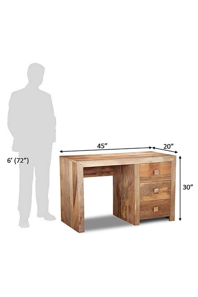 Brown Fancelot Study Table