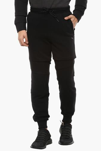 53be5e028 Buy PUMA Mens 2 Pocket Solid Joggers | Shoppers Stop
