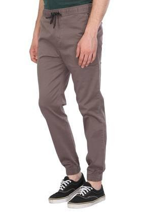 Mens 4 Pocket Solid Joggers