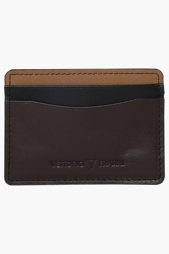 VETTORIO FRATINI -  Brown Mix Wallets - Main