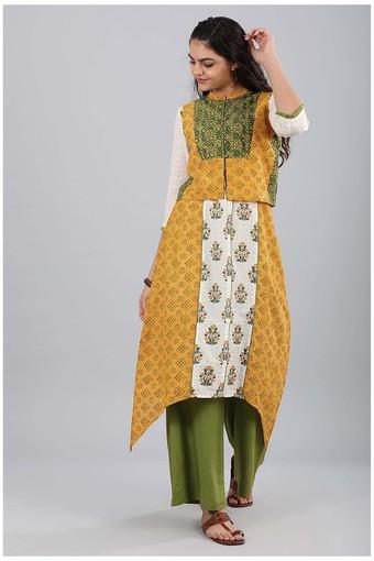 AURELIA -  Green Kurtas - Main