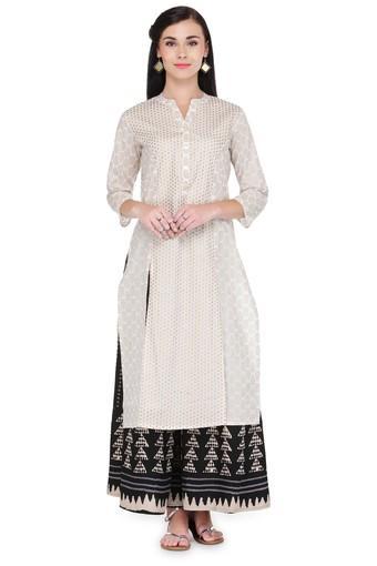 VARANGA -  WhiteSalwar & Churidar Suits - Main